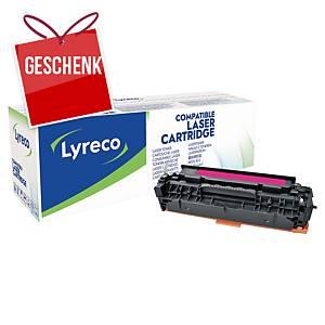 LYRECO komp. Lasertoner HP 304A (CC533A)/ CANON CRG-718 (2660B002) magenta