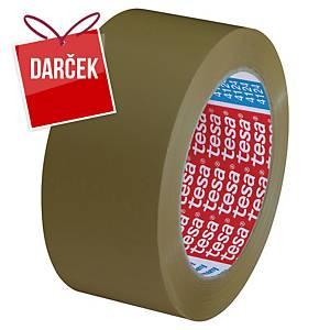 Baliaca páska tesapack® ULTRA STRONG, 50 mm x 66 m, hnedá