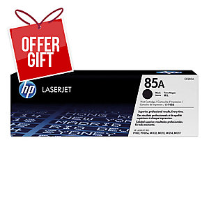 HP 85A Black Original Laserjet Toner Cartridge (CE285A)