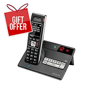 BT DIVERSE 7450 SINGLE CORDLESS DECT PHONE WITH ANSWERING MACHINE