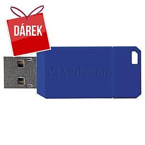 USB klíč Verbatim Pinstripe, modrý, 32 GB