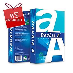 DOUBLE A กรีน กระดาษถ่ายเอกสาร A4 80 แกรม ขาว 1 รีมบรรจุ 500แผ่น