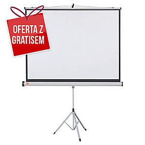 Ekran na stojaku NOBO 150 x 114 cm