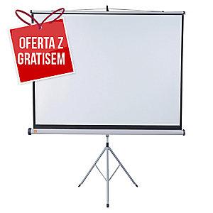 Ekran na stojaku NOBO 175 x 133 cm