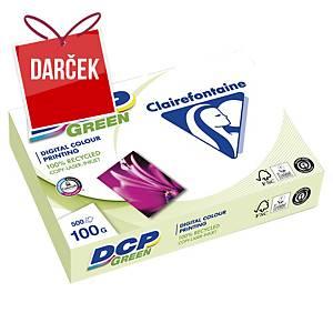 Papier recyklovaný DCP Green, A4 100 g/m²