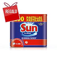 Caja de 200 pastillas para lavavajillas SUN Tablets