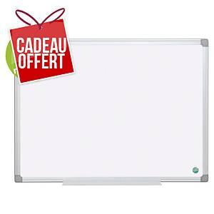 Tableau blanc émaillé Bi-Office Earth-It - magnétique - 60 x 90 cm