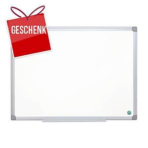 Weisswandtafel Bi-Office Earth-it CR1220790, 90x120 cm, Aluminiumrahmen