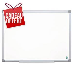 Tableau blanc émaillé Bi-Office Earth-It - magnétique - 90 x 120 cm