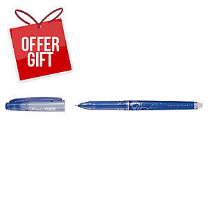 Pilot Frixion Point Rollerball Pen Blue - Box of 12