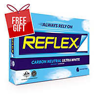 REFLEX A4 CARBON NEUTRAL PAPER 80GSM WHITE - BOX OF 5 REAMS