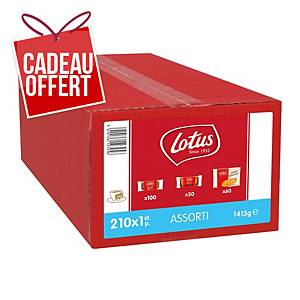 Assortiment de biscuits Lotus luxe assorti - coffret de 1 kg
