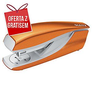Zszywacz LEITZ 5502 WOW, pomarańczowy