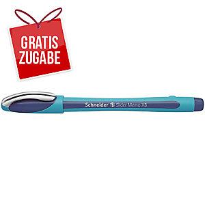 Kugelschreiber Schneider Slider Memo XB 150296, Strichstärke: 1,4mm, blau