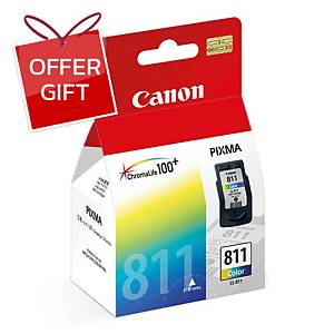 CANON CL-811 ORIGINAL INKJET CARTRIDGE TRI-COLOURS