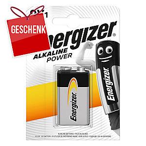 Energizer 9V LR61 Alkaline Base Batterien, 9 Volt