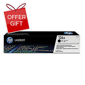 HP CE310A ORIGINAL LASER CARTRIDGE BLACK