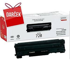 Canon laserový toner CRG-728 (3500B002), čierny