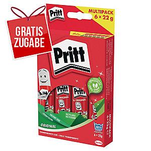 Klebestift Pritt PS6BF, Multipack, 22g, 6 Stück