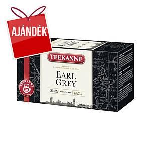 Teekanne Earl Grey tea, 20 filter/csomag