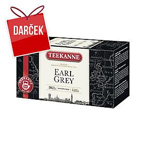 Porciovaný čaj Teekanne Earl Grey, 20 vrecúšok à 1,65 g