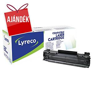 Lyreco kompatibilis toner HP 85A (CE285A)/Canon CRG725 (3484B002), fekete