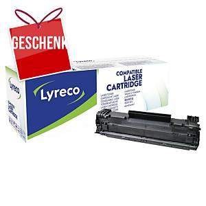 Lyreco komp. Toner HP 85A (CE285A)/Canon CRG725 (3484B002), schwarz