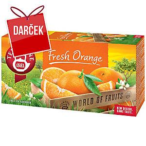 Čaj Teekanne Fresh Orange, 20 vrecúšok à 2,25 g