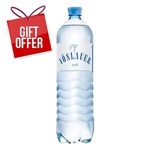 Vöslauer Gently Sparkling Mineral Water, 1.5l, 6pcs