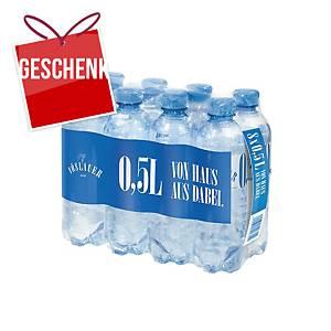 Vöslauer Mineralwasser, mild, 0,5 l, 8 Stück