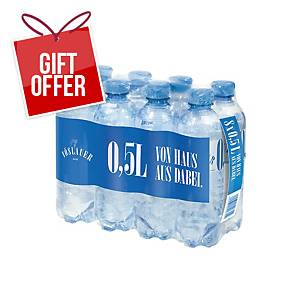 Vöslauer Gently Sparkling Mineral Water, 0.5l, 8pcs