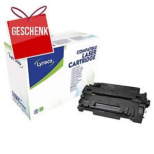 LYRECO kompatibler Lasertoner HP 55A (CE255A) schwarz