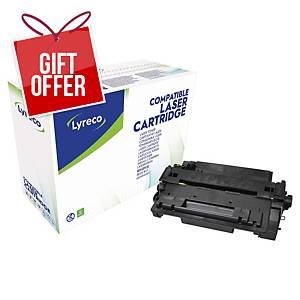 CARBOTEX COMP CART F/HP P3010 CE255A BLK