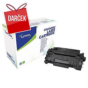 Toner Lyreco kompatibilný HP CE255A/ Canon 724, čierny do las. tlačiarní