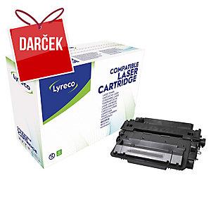 Toner Lyreco kompatibilný HP CE255X/ Canon 724H, čierny do las. tlačiarní
