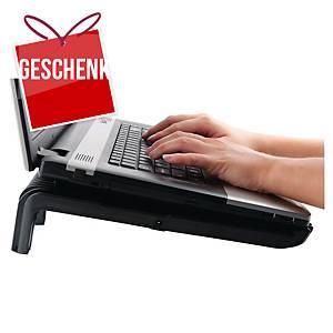 Laptopträger Fellowes 8018901, Maxi Cool, mit Ventilator, schwarz