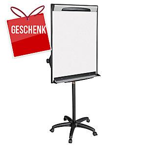 Flipchart Bi-Office EA48061823 Design Mobil, 100x70 cm, silber/schwarz