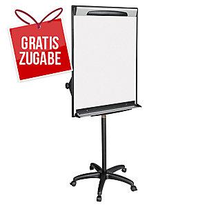 Flipchart Bi-Office EA48061823 Design Mobil, Maße: 100 x 70cm, silber/schwarz