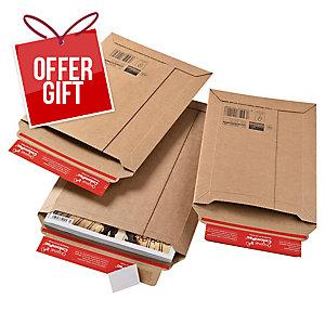 Colompac Cardboard Envelope 250 X 360 X 50mm