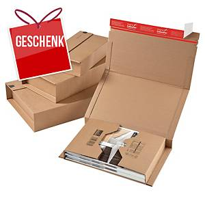 ColomPac® Versandbox, 302 x 215 x 80 mm, braun