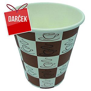 Papierové poháre Coffee Quick 240 ml, 50 ks