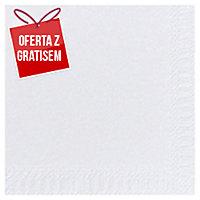 Serwetki DUNI Tissue 33 x 33 cm, białe, dwuwarstwowe, 125 sztuk