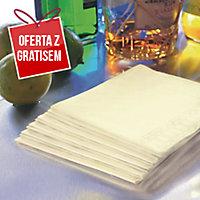 Serwetki DUNI Tissue 33 x 33 cm, champagne, dwuwarstwowe, 125 sztuk