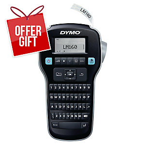 Dymo Labelmanager 160 Handheld Label Maker With Qwerty Keyboard
