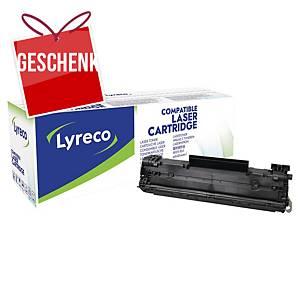 Lyreco kompatibler Lasertoner HP 78A (CE278A), schwarz