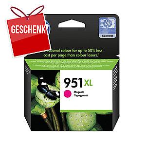 Tintenpatrone HP CN047AE - 951XL, Reichweite: 1.500 Seiten, magenta