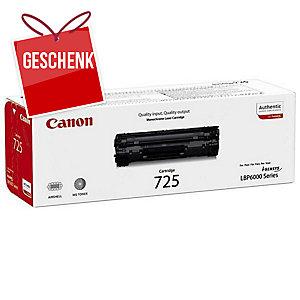 Canon Toner 725, Reichweite: 1600 Seiten, schwarz