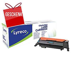 Toner Lyreco kompatibel mit Samsung CLT-C4072S, Reichweite: 1.000 Seiten, cyan