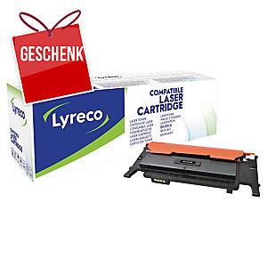 Toner Lyreco kompatibel mit Samsung CLT-K4072S, Reichweite: 1.500 Seiten,schwarz