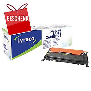 Toner Lyreco kompatibel mit Samsung CLT-Y4072S, Reichweite: 1.000 Seiten, gelb